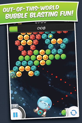 Bubble Galaxy With Buddies Screenshot