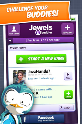Jewels With Buddies Screenshot